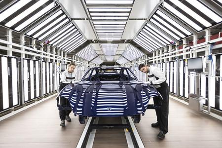 Porsche Taycan Zuffenhausen control calidad