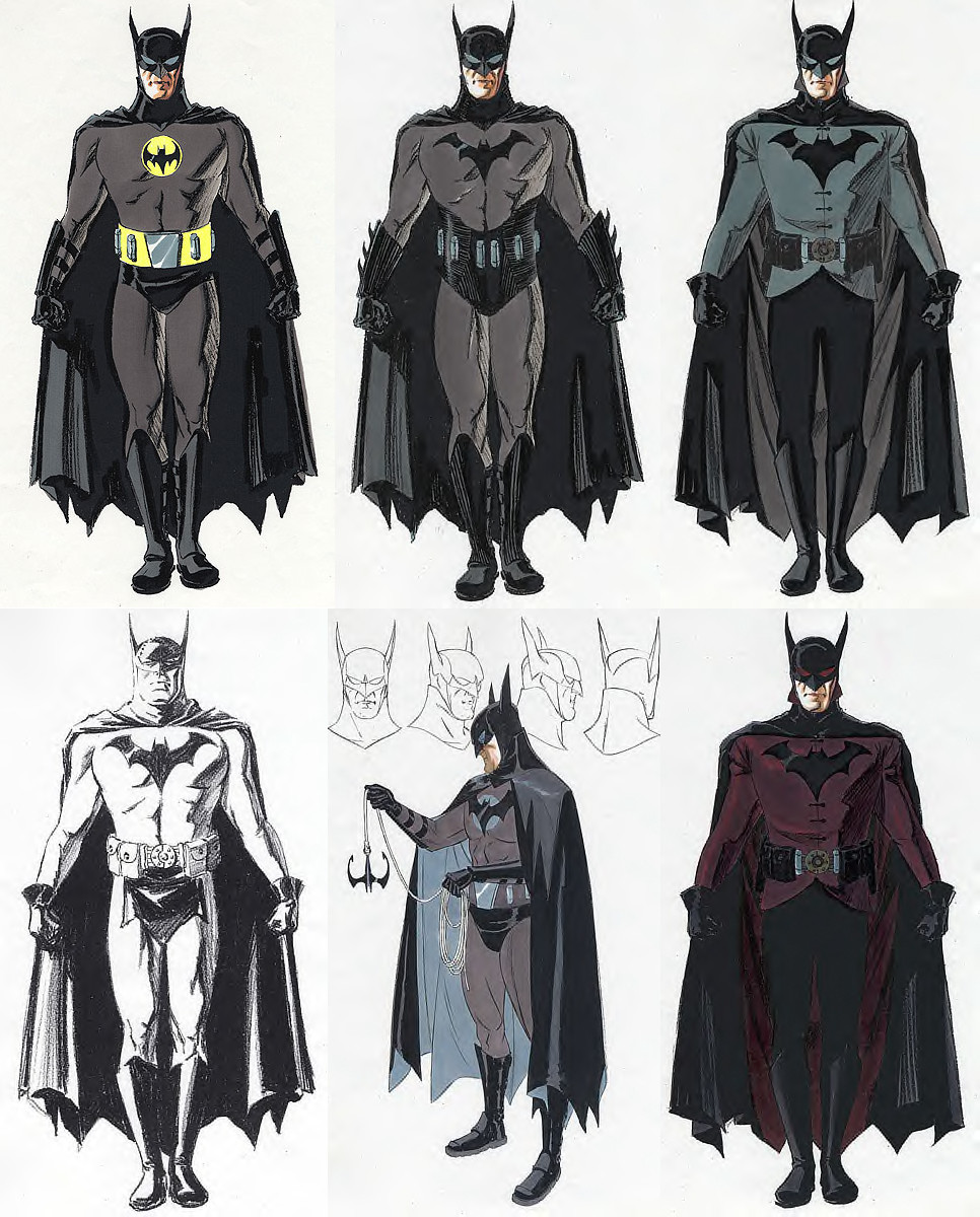 Batman Year One Aronofsky Concepts