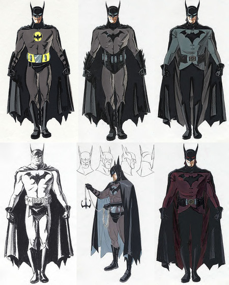 Batman Year One Aronofsky Concepts