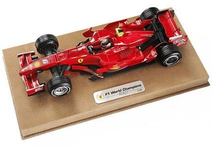 Ferrari F2007: el campeón del mundo a escala