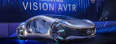 Mercedes-Benz Vision AVTR, el impresionante y futurista coche concepto inspirado en la película 'Avatar'
