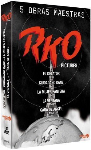 rko 5 obras maestras dvd