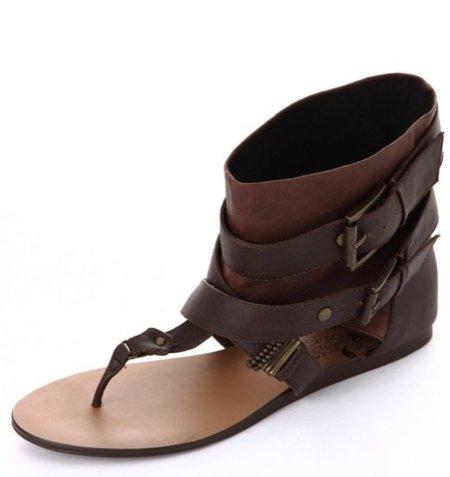 Bershka sandalia tobillo