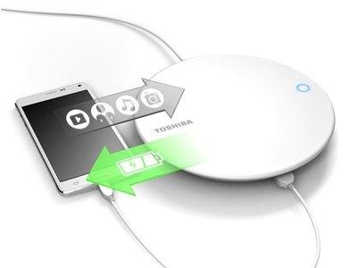 Así es Canvio, el nuevo dispositivo de Toshiba que carga  y guarda copias de seguridad de tu smartphone