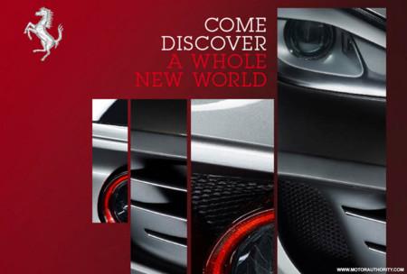 Ferrari presentará el nuevo FF el 15 de Febrero