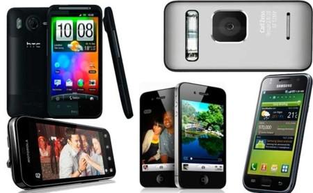 ¿Siguen siendo competitivos los smartphones de 2010?