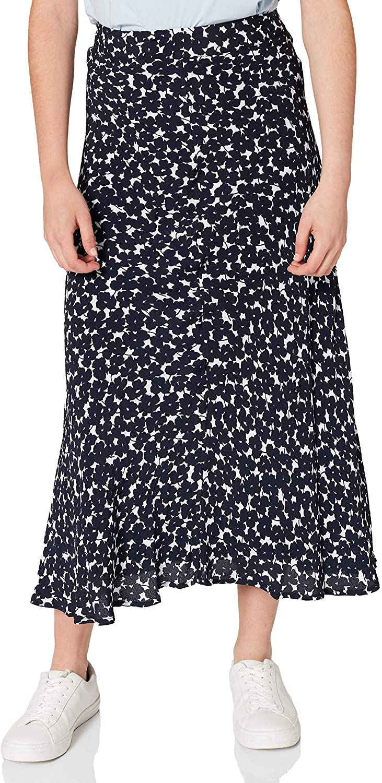 Tommy Hilfiger Viscose Moss Crepe Midi Skirt Falda para Mujer