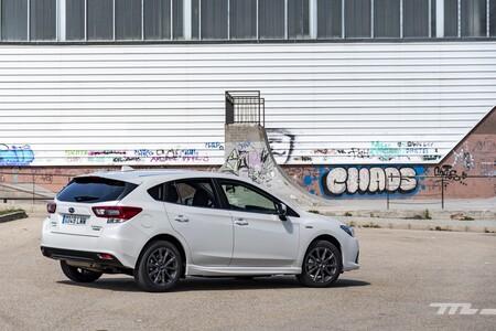 Subaru Impreza Ecohybrid 2021 Prueba 004