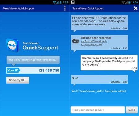 TeamViewer QuickSupport ya disponible para cualquier dispositivo Android