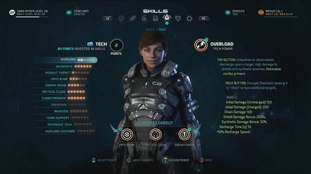Mass Effect: Andromeda muestra más de cinco minutos de su sistema de combate en vídeo