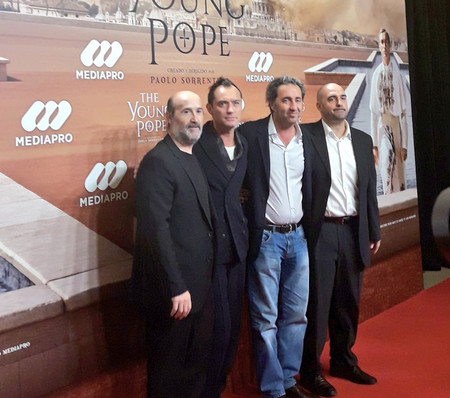 Theyoungpope Photocall