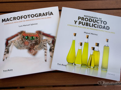 'Macrofotografía' y 'Fotografía de producto y publicidad', los primeros libros de una nueva colección eminentemente práctica