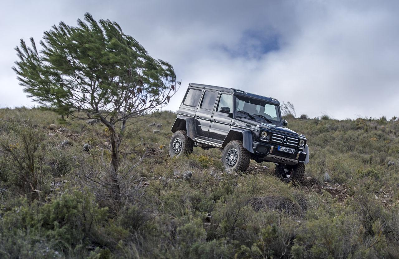 Foto de Mercedes-Benz G 500 4x4², toma de contacto (37/127)