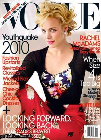 Rachel McAdams en Vogue con una nueva imagen