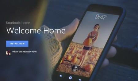 Facebook Home consigue medio millón de instalaciones en una semana, pero...