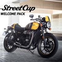 Cómprate una Triumph Street Cup y olvídate del casco, la chaqueta y los guantes