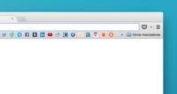 ¿Demasiados favoritos en la barra de Chrome? Utiliza sólo sus favicons para ahorrar espacio