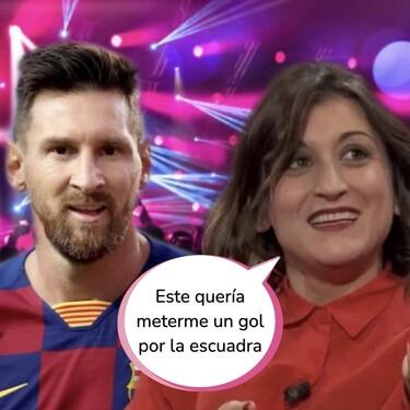 """La noche loca en la que Messi quiso meter gol en la portería de Susi Caramelo: """"Me dijo ¿te vienes a mi casa?"""""""