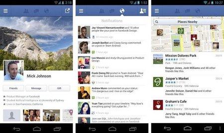 Facebook para Android se actualiza y permite enviar mensaje por voz