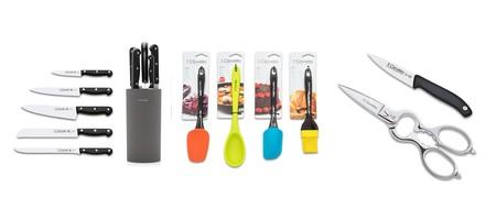 Artículos de cocina en oferta en Amazon: tijeras, cuchillos y otros utensilios de la marca 3 Claveles con descuentos