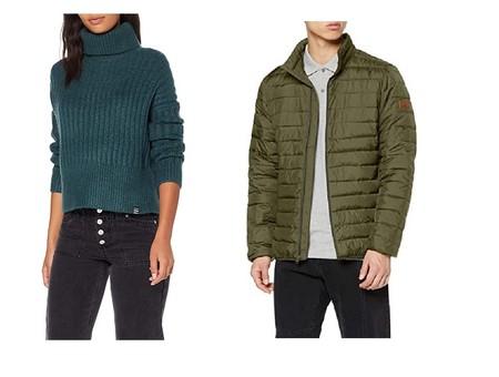 Chollos en tallas sueltas de chaquetas, camisetas y jerseys de marcas como Superdry, Slazenger o Quiksilver en Amazon