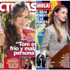 Melyssa Pinto un tanto despechada, la princesa Leonor con sus primeros tacones y Carmen Sevilla sumida en el Alzheimer, estas son las portadas de la semana del 21 de octubre