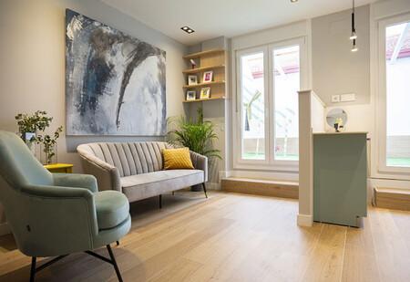 Optimización del espacio, luz natural y apertura al exterior: las claves de este apartamento reformado junto a Matadero Madrid