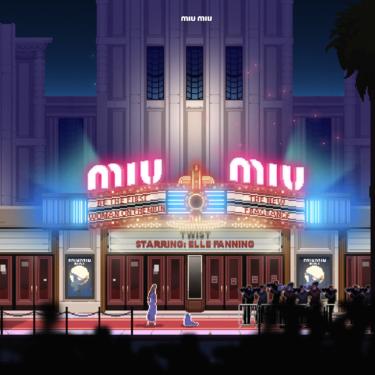 Miu Miu ha creado un videojuego a lo Mario Bross para su perfume Twist, lo protagoniza Elle Fanning y queremos el record