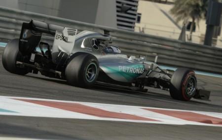 Mercedes Pirelli Test