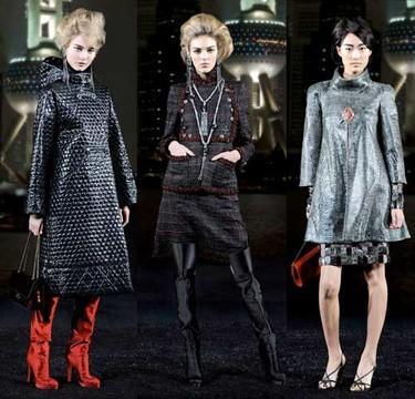 Chanel Pre-Fall 2010, colección París-Shangai