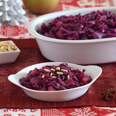 Lombarda de Navidad: receta de un primer plato o guarnición muy saludable y de lo más tradicional