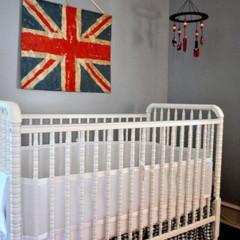 Foto 3 de 5 de la galería un-dormitorio-infantil-de-inspiracion-britanica en Decoesfera