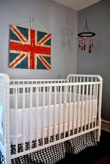 Foto de Un dormitorio infantil de inspiración británica (3/5)