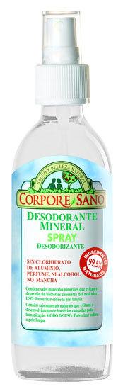 Novedades en cosmética Corpore Sano: mascarilla facial Ecocert y desodorante mineral líquido