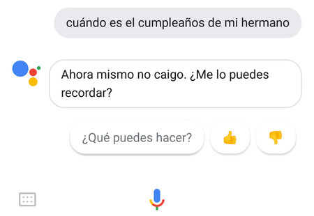 El Asistente de Google se prepara para aprender que contactos son tu familia y sus cumpleaños