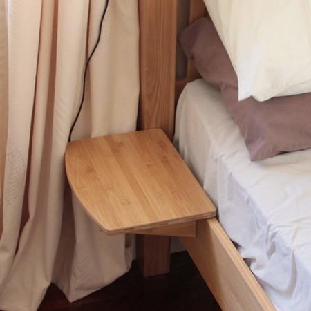 Si tu dormitorio es muy pequeño, atención a estas mini mesillas