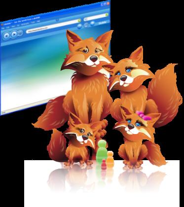 Glubble, extensión de Firefox para proteger a los niños