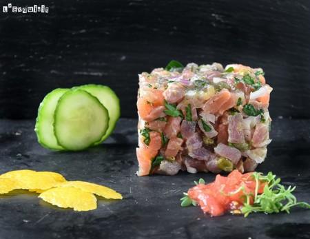 Tartar De Atun Y Salmon 768x593
