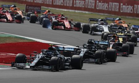Bottas Silverstone F1 2020