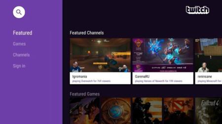 Twitch se actualiza, su versión 4.5.1 añade soporte para Android TV