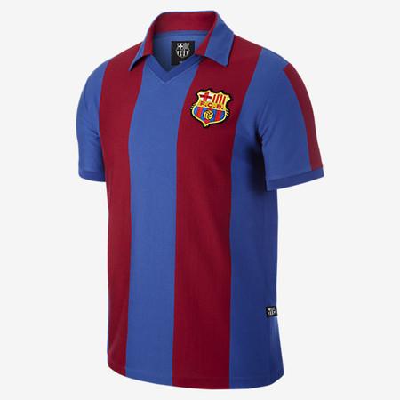 Fc Barcelona 1980 Retro Camiseta