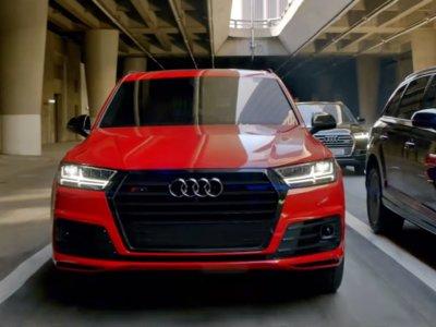 Este es el cameo del Audi SQ7 en la gran pantalla, de paseo con el Capitán América