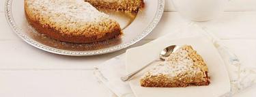 Receta de pastel con streusel de manzana, el bizcocho con cobertura crujiente por el que enloquecerás