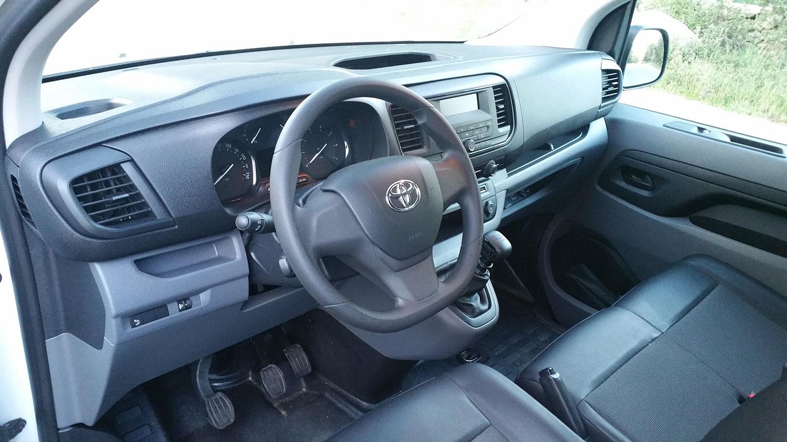 Toyota PROACE furgón - Interiores