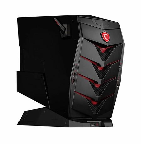 Torre MSI Aegis de oferta a 1.599 euros en la MSI Gaming Week en Amazon: procesador i7-8700, 16 GB RAM,2TB+256GB SSD y GTX1070Ti