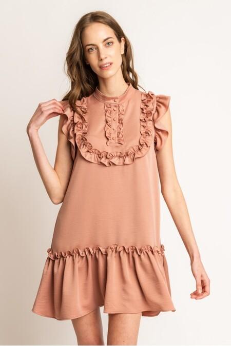 Vestido Bensa Rosa