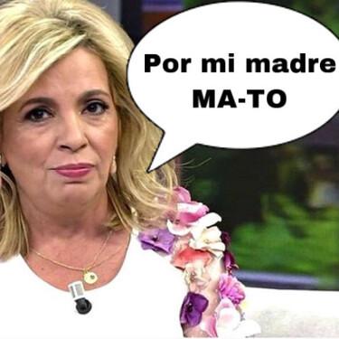 Carmen Borrego aplaude la actitud de María Teresa Campos y niega el polémico desplante a Jorge Javier Vázquez