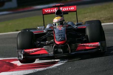 Lewis Hamilton, pole en Monza