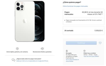 stock iPhone 12 y iPhone 12 pro