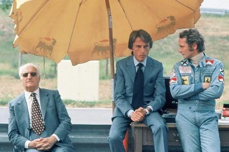 Lauda Enzo Ferrari F1 1975